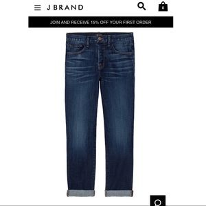 J Brand 9022 Caitland Jeans in Invited
